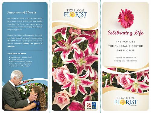 In Lieu of Flowers Brochure